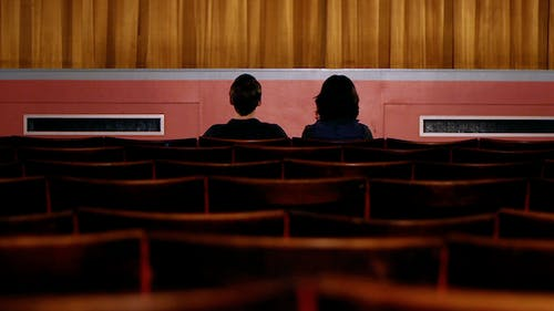 Couple at Movies