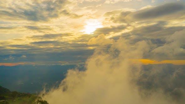 Thumbnail for Sonnenuntergang am Berg