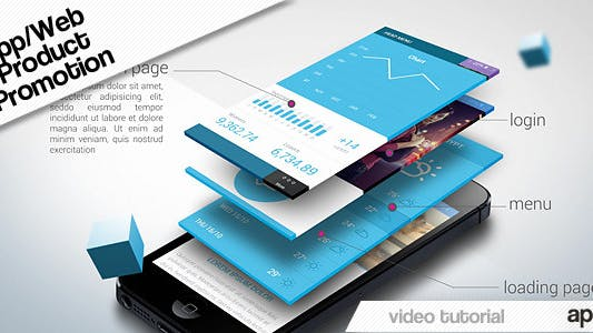 Thumbnail for App Web Product Promotion