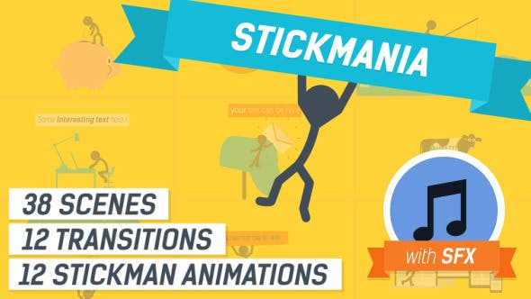 Thumbnail for Explainer Video Stickmania