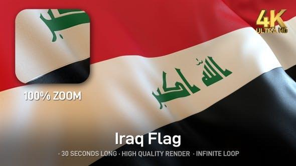 Thumbnail for Iraq Flag - 4K