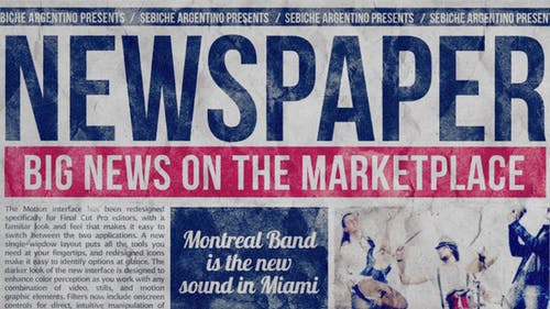 Newspaper Line