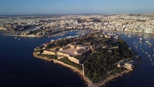Thumbnail for Aerial View of Fort Manoel, Malta