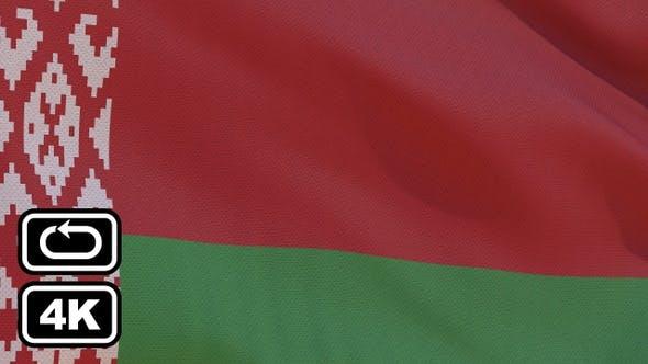 Thumbnail for Belarus Flag 4K Seamless Loop