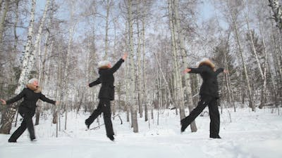 Ballet in the Wood