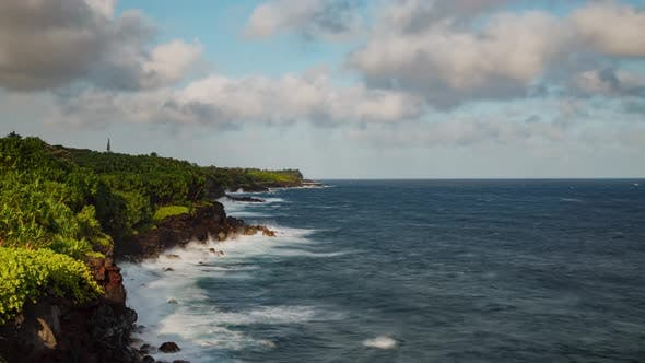 Time Lapse Hawaii Coastline