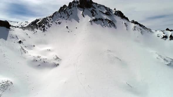 Cover Image for Aerial View Of Snowy Mountains