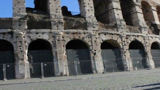 Thumbnail for Facade of Roman Coliseum