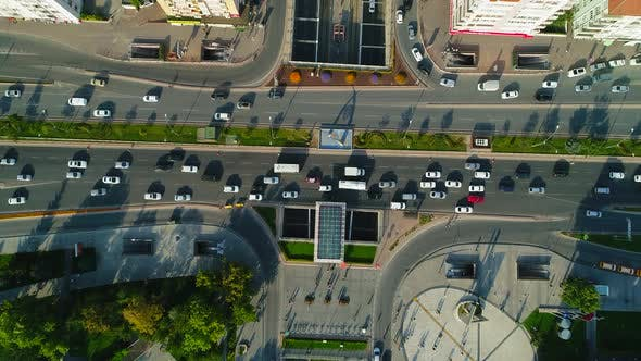 Thumbnail for Aerial View City Traffic