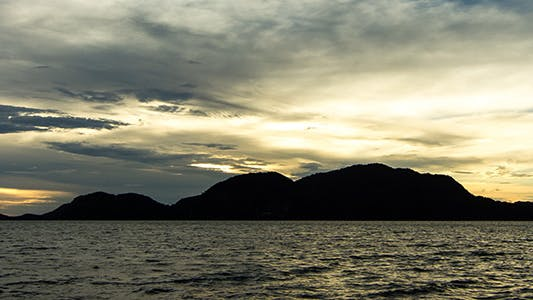 Thumbnail for Zooming In Sunless Sunrise at Langkawi