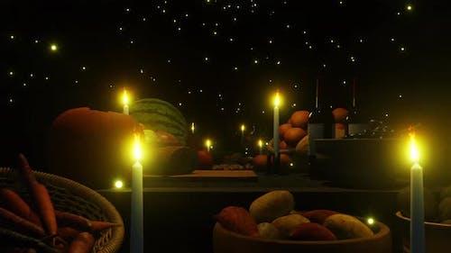 Happy Thanksgiving Festival 01 4K