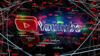 Youtube Logo Loop 4K