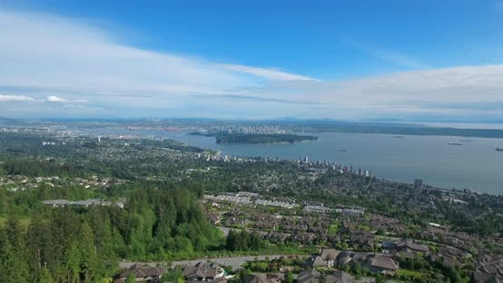Thumbnail for VANCOUVER, CANADA. Big City Perched on the Edge of Wilderness.