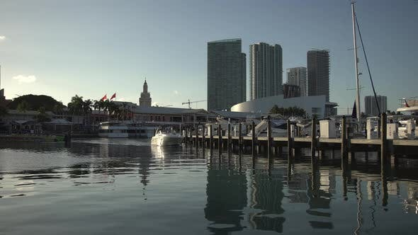Thumbnail for View of the marina in Miami