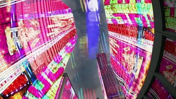 Thumbnail for data computer code technology tokyo japan skyline urban city