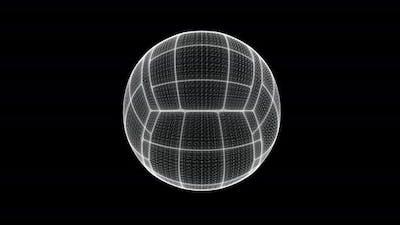 Volleyball Ball Hologram