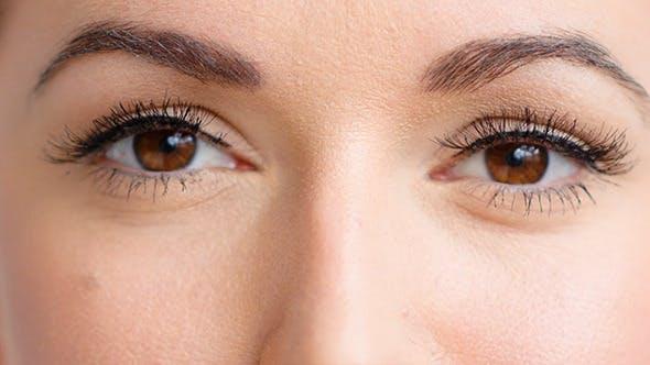 Weibliche Augen