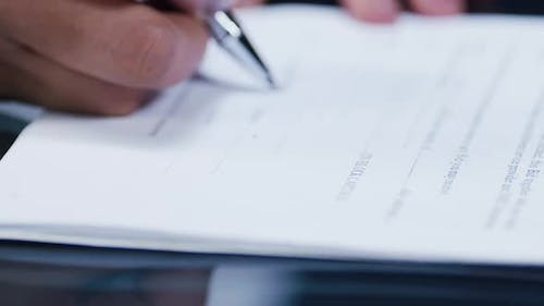 Legal Contract Sign