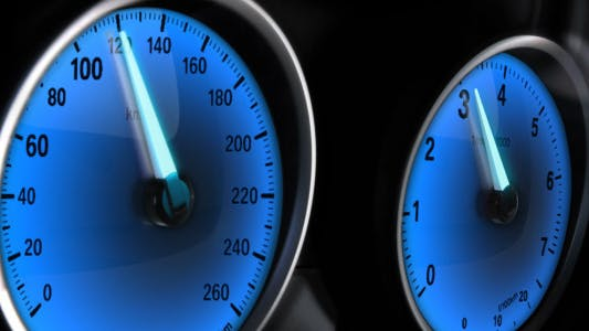 Thumbnail for Car Acceleration - Glowing Dashboards