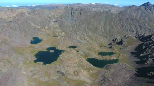 High Altitude Glacial Lakes