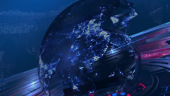 Thumbnail for News Background Earth