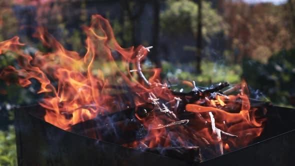 Hard Fire in Braizer