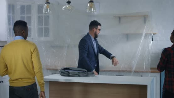 Thumbnail for Real Estate Agent Showing Property To a Couple