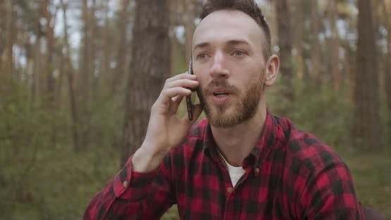 Thumbnail for Talking with Smartphone in Forest