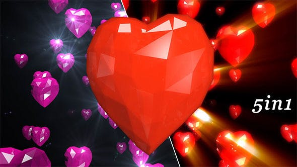 Thumbnail for Low Poly Heart