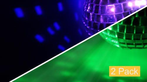 Dark BG And Disco Ball Seamless (2-Pack)