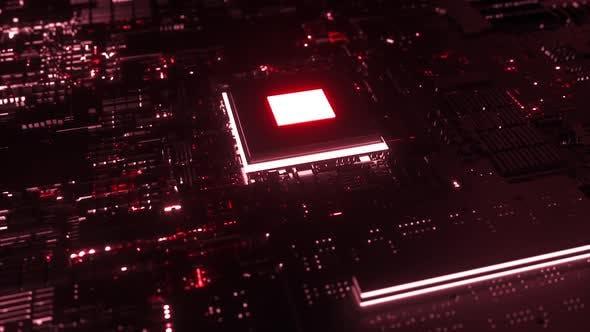 Microchip on Motherboard
