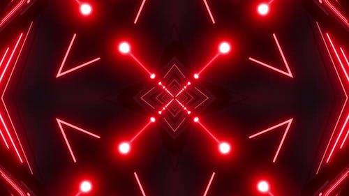 4k Red Abstract Vj Loop Pack
