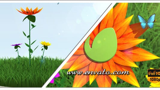 Thumbnail for Flower Logo/Text Opener