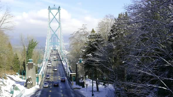Thumbnail for Winter Vancouver - Lions Gate Bridge
