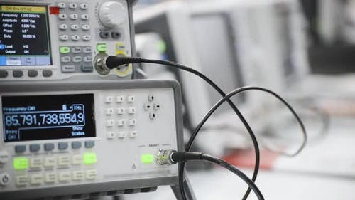 Digital Electronic Frequency Meter.