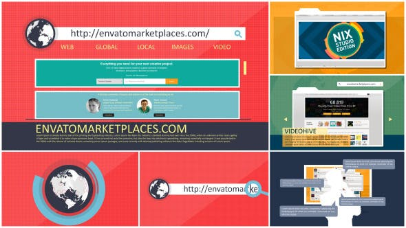 Thumbnail for Website or Webpage Stylish Promotion