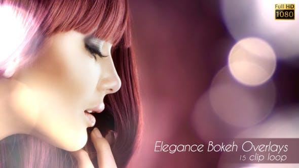 Elegance Bokeh Overlays