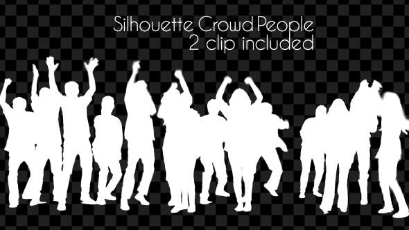 Thumbnail for Silhouette Crowd People