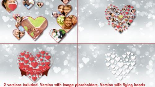 Valentine Romantic Hearts Opener
