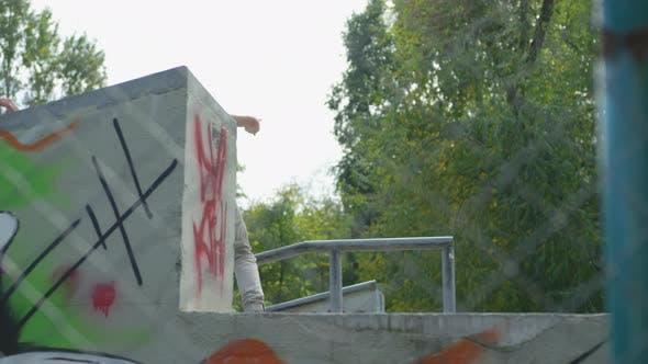 Thumbnail for Skater in a skatepark