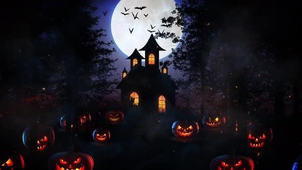 Halloween-Wald