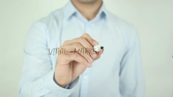 Thumbnail for Virales Marketing, Schreiben auf dem Bildschirm