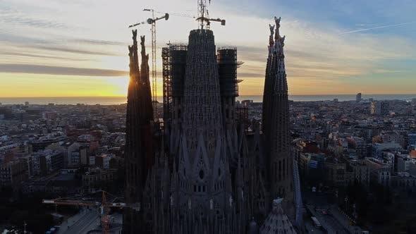 Thumbnail for Temple of Sagrada Familia in Barcelona