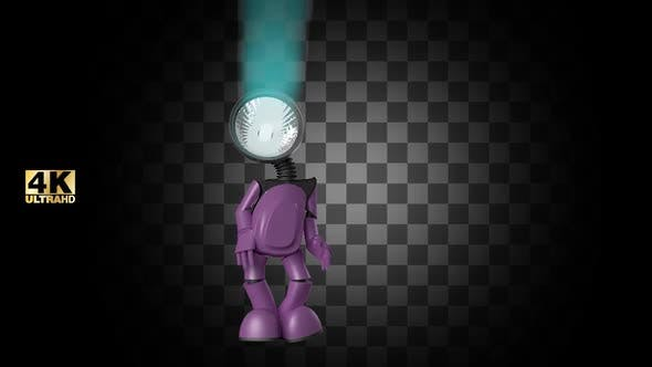 Thumbnail for Shine Inspired Happy Robot