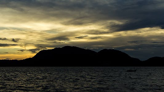 Cover Image for Zooming Out Sunless Sunrise at Langkawi