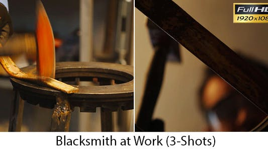 Thumbnail for Blacksmith at Work