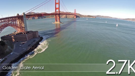 Thumbnail for Golden Gate Aerial