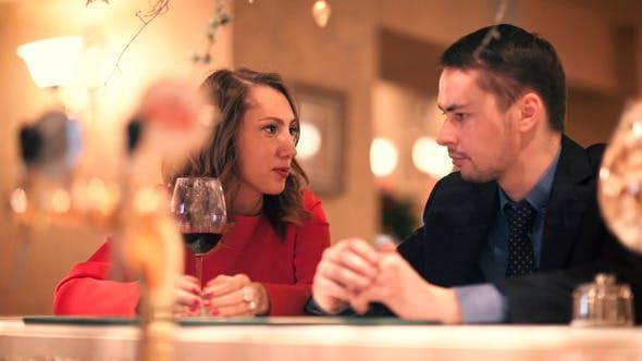 Thumbnail for Man and Woman Talking