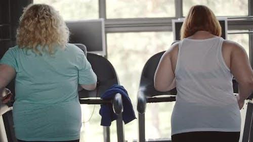 Getting Slim on Treadmill