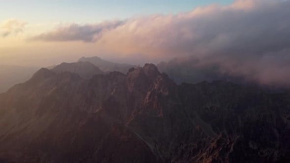 Thumbnail for Sunset Over High Tatras Mountains